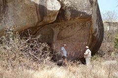Rock paint Stock Images