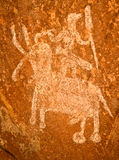 Rock Paintings Royalty Free Stock Images