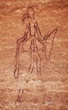 Rock paintings of Tassili N'Ajjer, Algeria Royalty Free Stock Photos