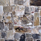 Rock Patterned Wall. Stock Image