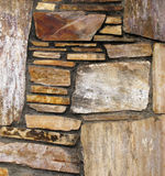 Rock Patterned Wall. Royalty Free Stock Image