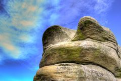 Rock at Peak district Stock Images