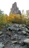 Rock peak Royalty Free Stock Images
