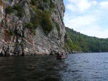 Rock in Pembroke. Canada, north America. Rock in Pembroke. Canada north America royalty free stock images