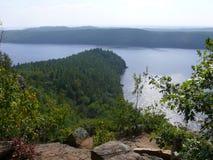 Rock in Pembroke. Canada, north America. Rock in Pembroke. Canada north America royalty free stock image