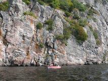 Rock in Pembroke. Canada, north America. Rock in Pembroke. Canada north America stock image