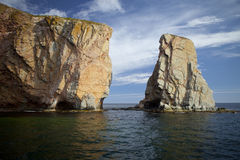 The Rock At Percé Royalty Free Stock Photography