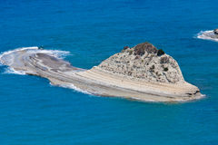 Rock of the Peroulades. Greece, Corfu Royalty Free Stock Photos