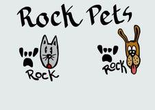 Rock pets Royalty Free Stock Photos