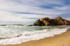 Rock at Pfeiffer Beach, California. Rock at Pfeiffer Beach, Big Sur, California, USA Stock Image