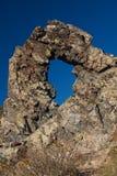 Rock phenomenon Halkata Royalty Free Stock Photos