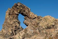 Rock phenomenon Halkata Royalty Free Stock Photography