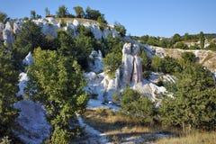 Rock phenomenon Stone Wedding near town of Kardzhali Royalty Free Stock Image