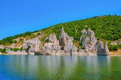 Rock Phenomenon The Wonderful Rocks. In Dalgopol, Bulgaria royalty free stock photo