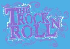 rock pieczęć Obraz Royalty Free