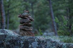 Rock Pile stock photography