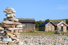 Rock piles Royalty Free Stock Images