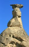 Rock Pillar and Cap Royalty Free Stock Photography