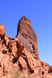 Rock Pinnacle Valley of Fire Royalty Free Stock Photography