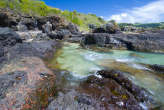Rock Pool Stock Photo