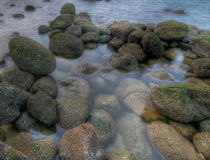 Rock Pool Royalty Free Stock Photography