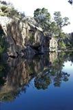 Rock pool in Cederberg Mountains Royalty Free Stock Photos
