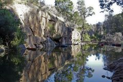 Rock pool in Cederberg Mountains Royalty Free Stock Photo