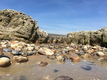 Rock Pool Landscape Royalty Free Stock Photography