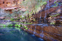 Rock pool Waterfall Stock Photos