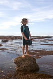 Rock Pooling Royalty Free Stock Photos