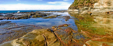 Rock pools Stock Images