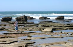 Rock Pools Stock Photo