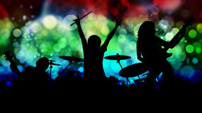 Rock poster or background Royalty Free Stock Photography