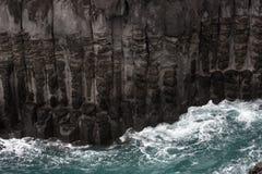 Rock precipice Stock Image