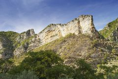 Rock in provence Stock Photography