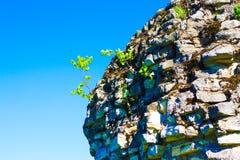 Rock in Pushkin Park stock images