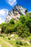 Rock in  Pyrenees, Spain Stock Images