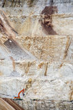 Rock quarry. Royalty Free Stock Photography