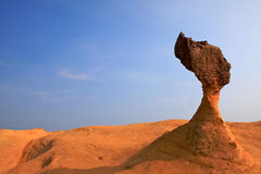 Rock Queen's Head.Taiwan Royalty Free Stock Images