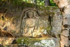 Rock Reliefs near Kopicuv statek Stock Image