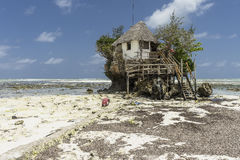 Rock Restaurant, Zanzibar, Tanzania Stock Photography