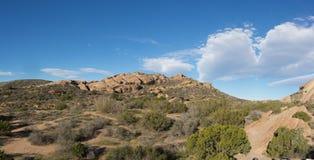 Rock Ridge in Mojave Desert Stock Photos