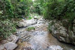 Rock river view from Dipilto, Nicaragua. Rock river view from Dipilto, Ocotal, Nicaragua stock photo