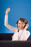 Rock and roll! Royalty Free Stock Photography