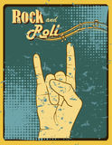 Rock and roll Royalty Free Stock Images