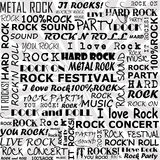 Rock and roll background Royalty Free Stock Photography