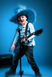 Rock and Roll boy Royalty Free Stock Photos