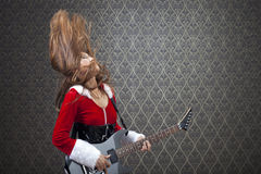 Rock And Roll At Christmas Royalty Free Stock Photo