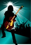 Rock and roll concert Stock Photography