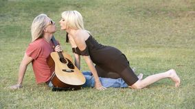 Rock and Roll Couple Stock Photography
